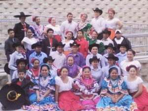 This was my Ballet Folklorico dance team.
